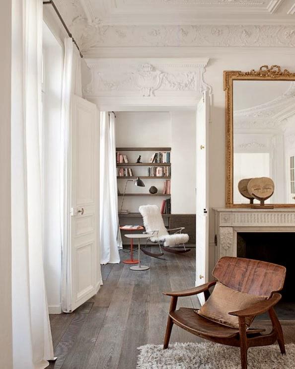 Interno parigino blog di arredamento e interni for Interni appartamenti parigini
