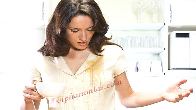 Giysilerden Kahve Lekesi Nasıl Çıkar -viphanimlar.com