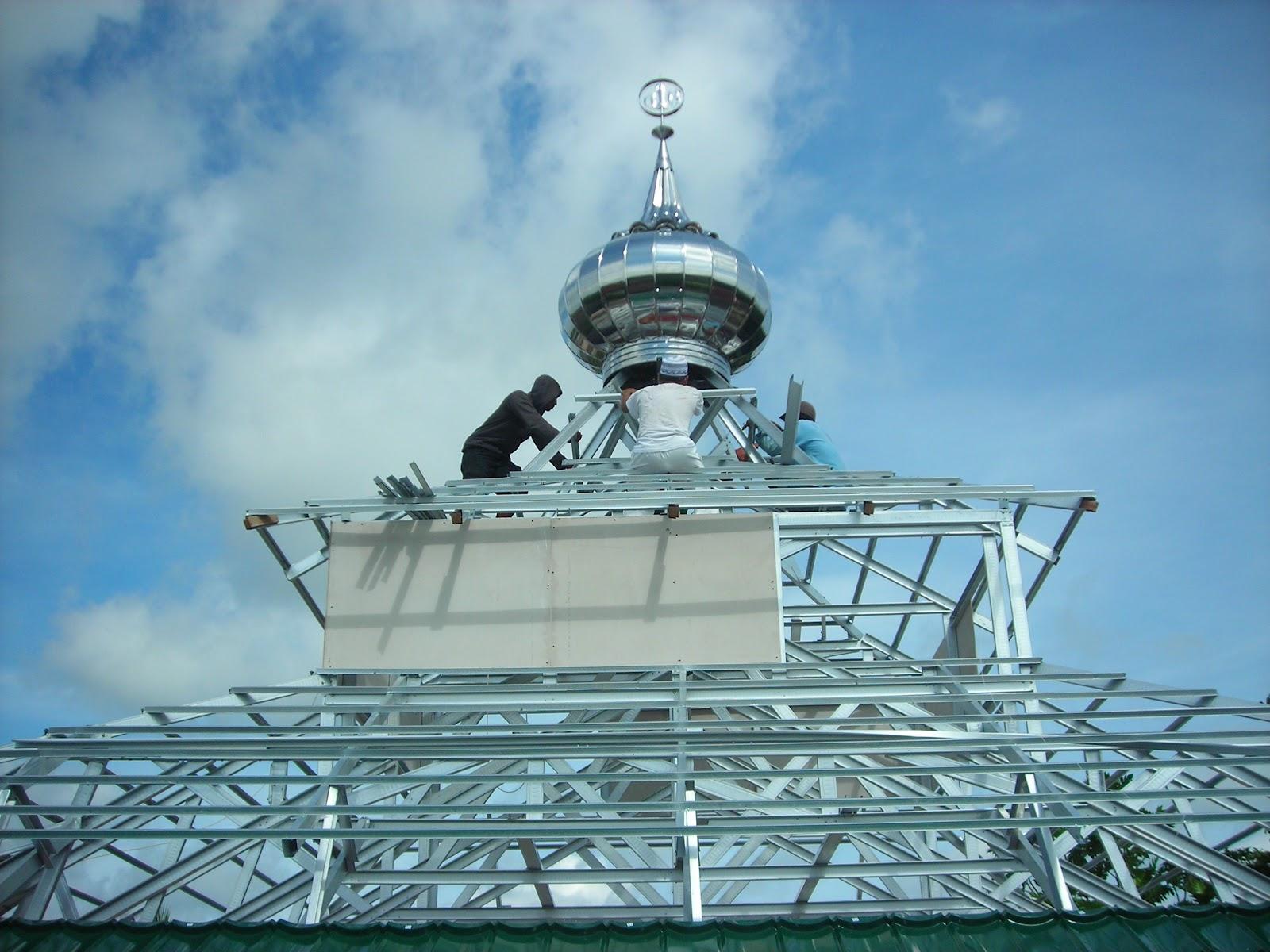 Baja Ringan G550 Jasa Pemasangan Atap
