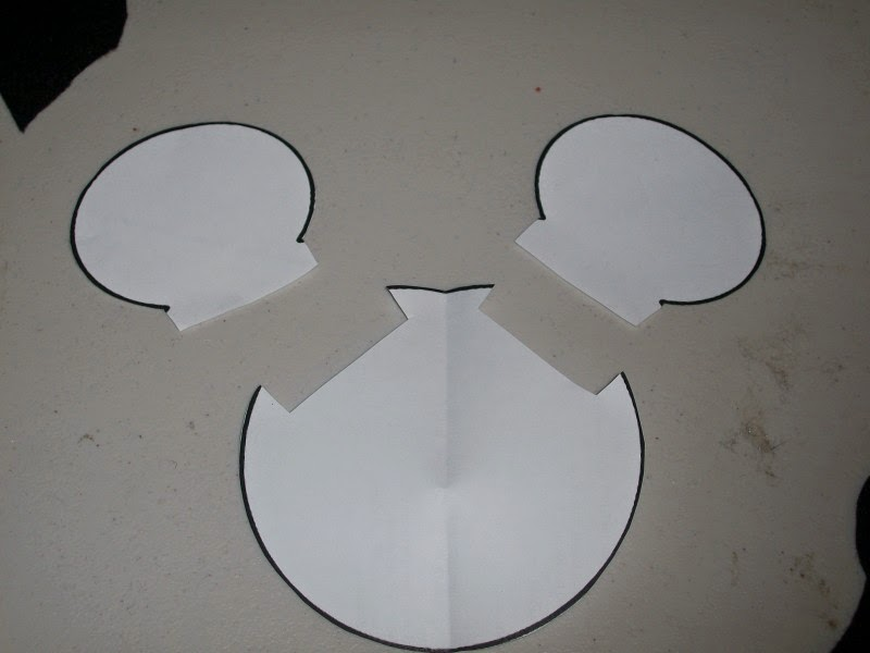 Mickey Mouse Head Template
