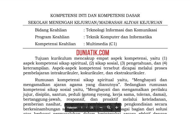 Perdirjen Dikdasmen No. 464/D.D5/KR/2018