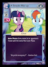 My Little Pony A Simple Mix-up The Crystal Games CCG Card