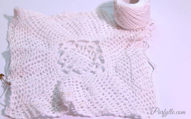 Crochet Mesh Square