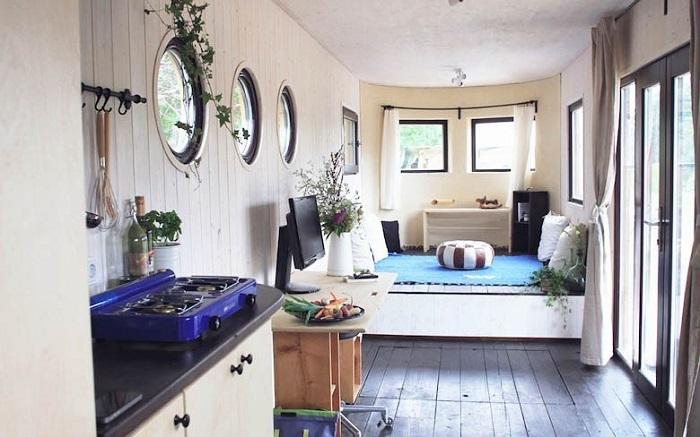Wohnwagon una innovadora casa rodante autosuficiente que - Aislamiento termico para casas ...
