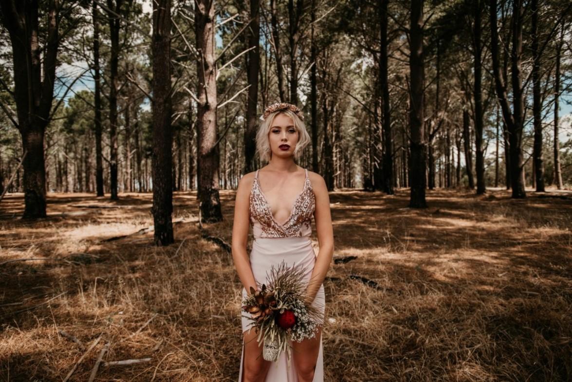 BRIDAL: GLAM NATURE   BRIDAL INSPIRATION SHOOT PERTH WA