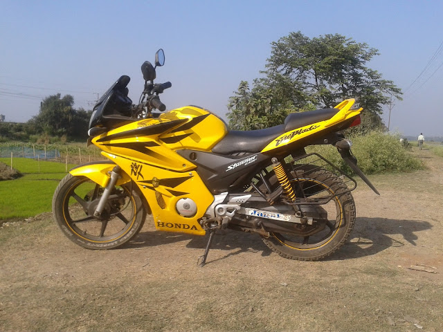 Modify Motorcycle Honda Stunner CBF 125