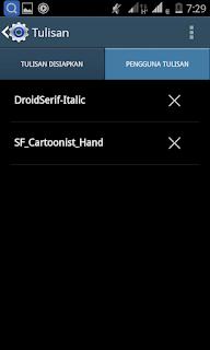 Cara Menggganti Font Android dengan mudah