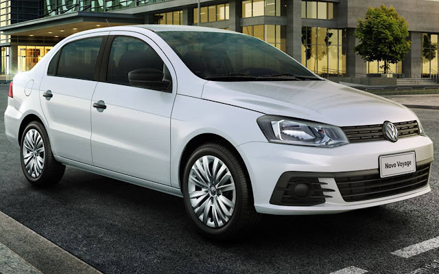 VW Voyage 2017 1.0 três cilindros