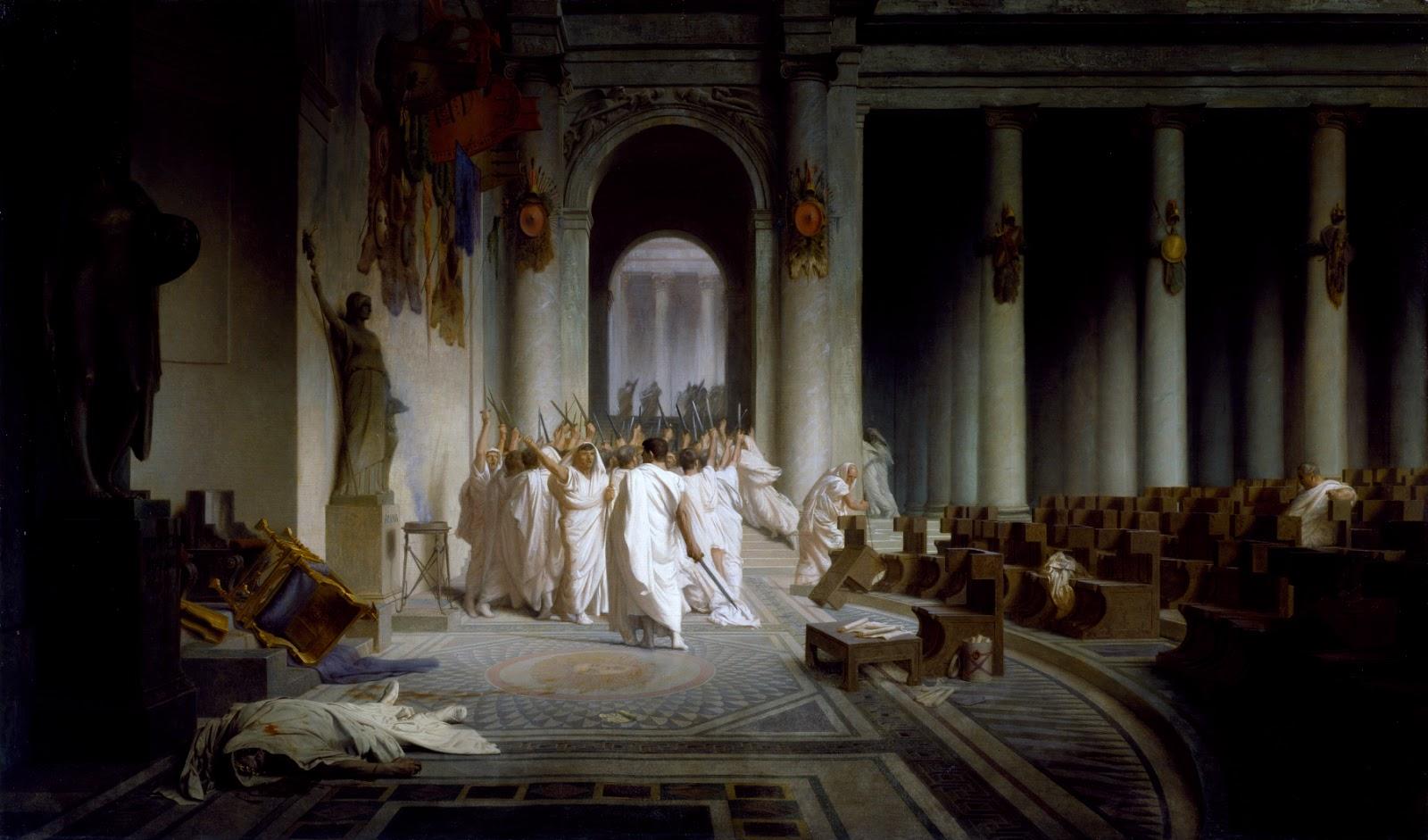 ジャン=レオン・ジェロームのカエサルの死