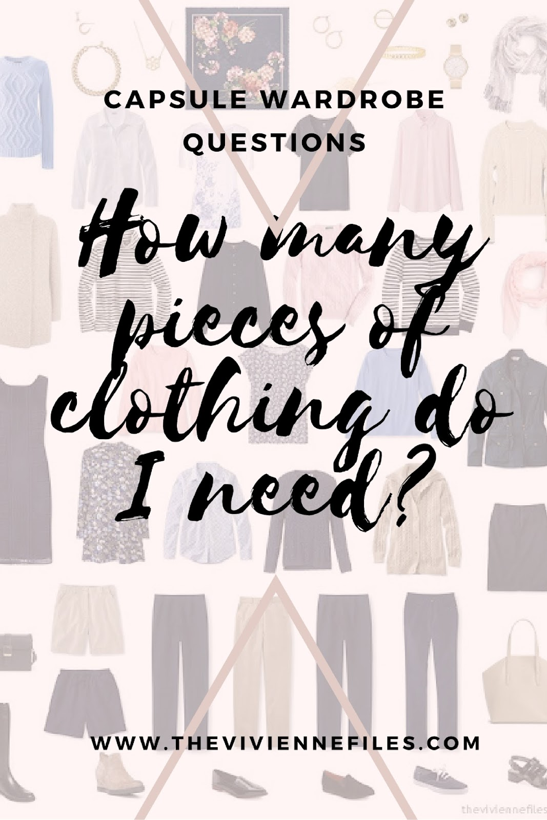How Many Pieces Of Clothing Do You Need?