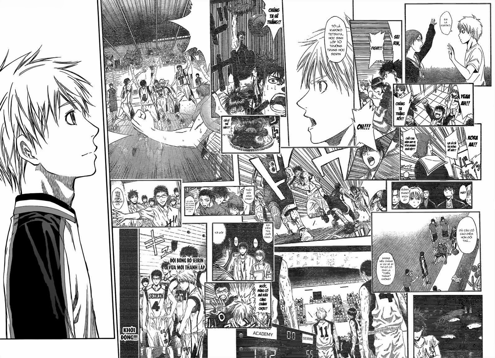 Kuroko No Basket chap 229 trang 18