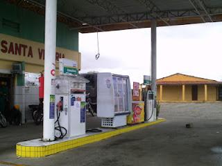 Posto de combustível de São Vicente do Seridó é assaltado em plena luz do dia