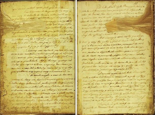 Σελίδες από το χειρόγραφο 512