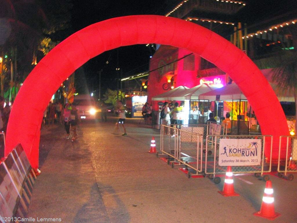 Samui Midnight Run start 2013