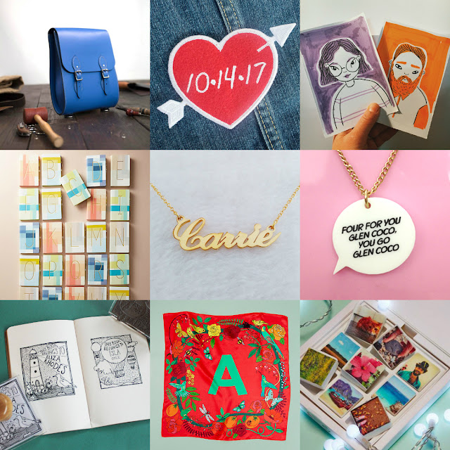 Personalised and custom Christmas gift guide