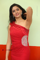 Actress Zahida Sam Latest Stills in Red Long Dress at Badragiri Movie Opening .COM 0054.JPG