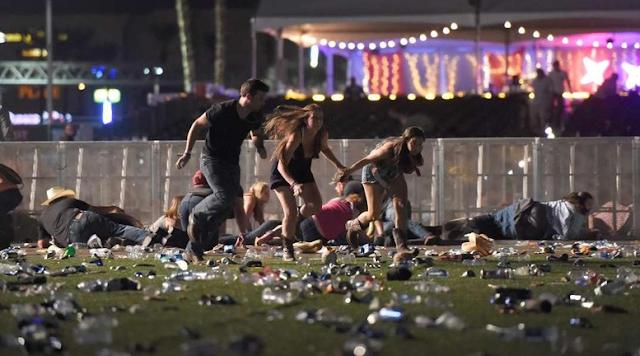 Insiden Penembakan Brutal di Las Vegas Dipastikan 50 Orang Tewas, dan 200 Orang Luka-Luka