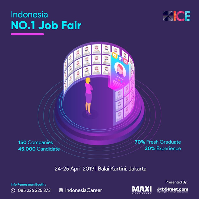 Job Fair Jakarta April 2019
