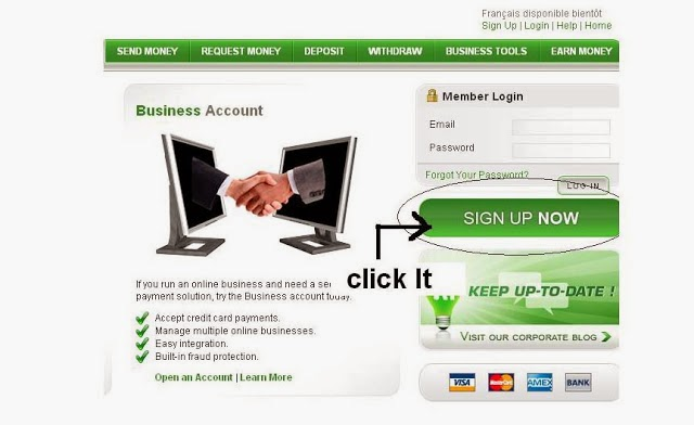 sign up payza account