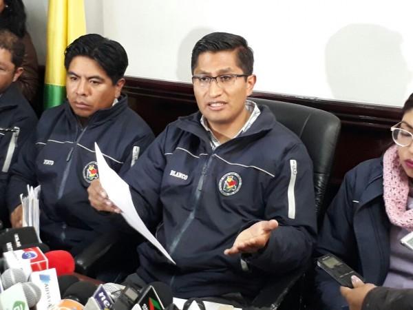 Blanco salió a defenderse de las acusaciones de Quiroga  / FIDES
