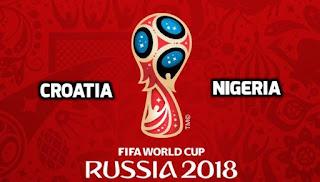 Croatia vs Nigeria Live