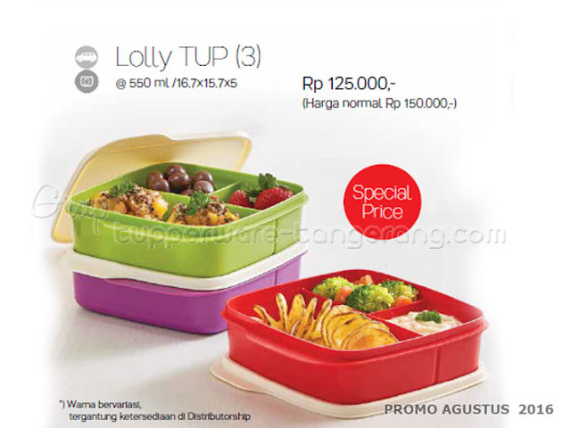Lolly TUP (3) Promo tupperware Agustus 2016