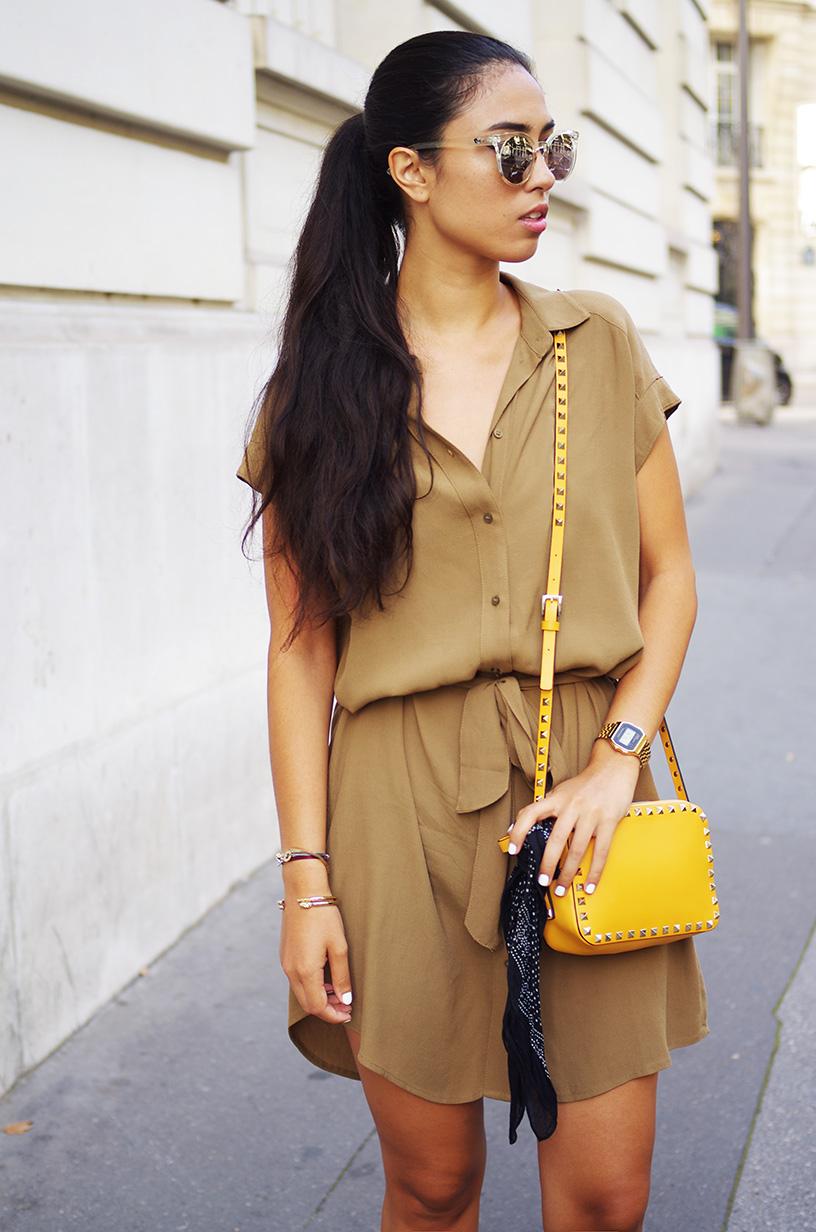 Elizabeth l Shirt dress outfit l H&M Valentino Quay Australia Topshop Asos l THEDEETSONE l http://thedeetsone.blogspot.fr