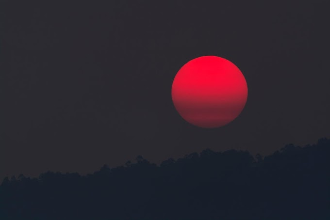 Luna de Sangre Julio 2018