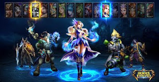 Heroes Evolved Apk v1.1.26.0 Mod+Data Free Download