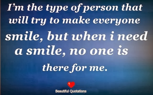 Quote Everyone Should Smile: I'm The Type Of Person That Will Try To Make Everyone