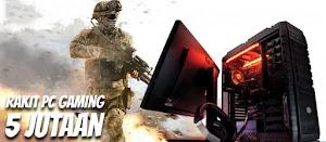 Racik PC untuk Rakit PC Gaming Murah 5 juta-an dengan AMD Ryzen3 2200G Raven Ridge
