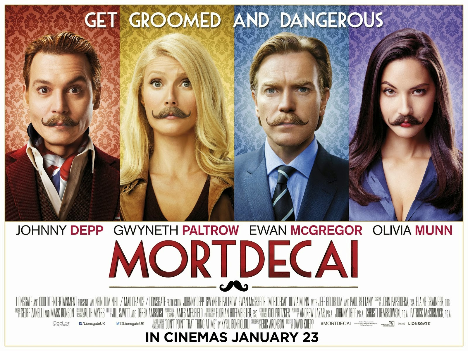 Mortdecai (2015) ταινιες online seires oipeirates greek subs