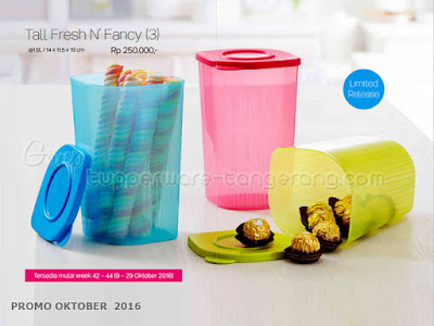 Tall Fresh n Fancy ~ Tupperware Promo Oktober 2016