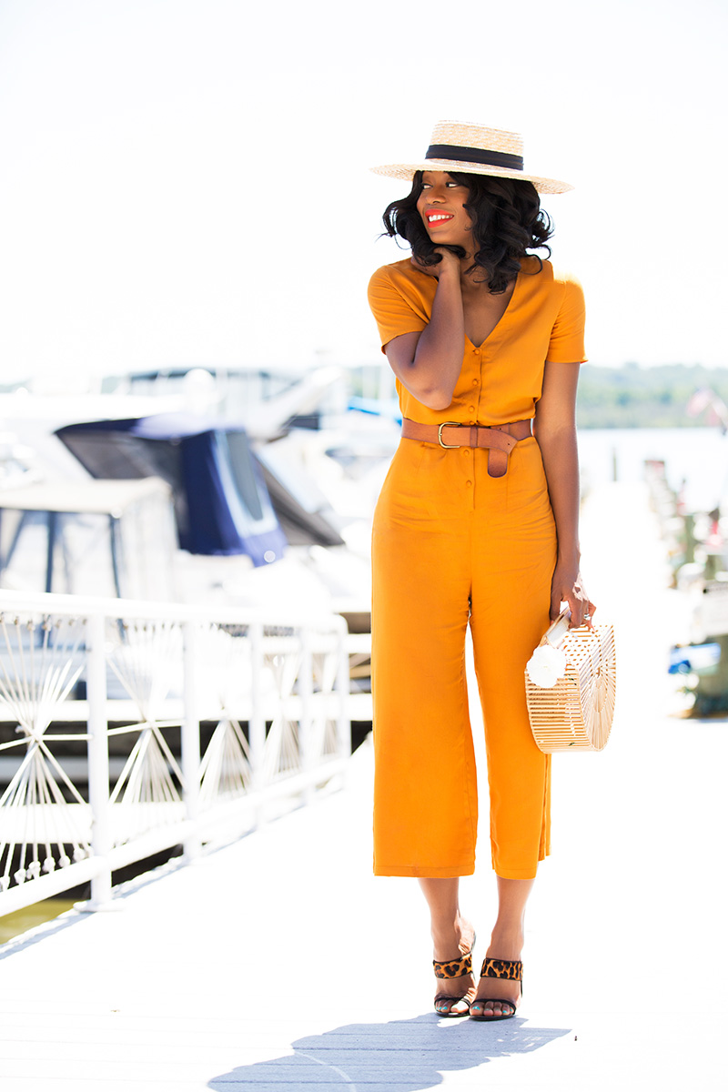 asos summer jumpsuit, cult gaia wooden bag, www.jadore-fashion.com