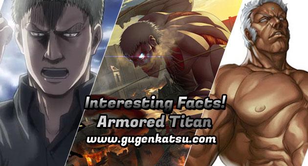 Fakta Armored Titan - Shingeki no kyojin