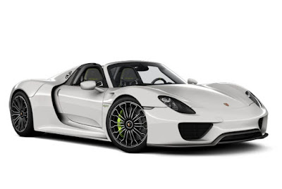 Porsche 918 Spyder performance spesifications