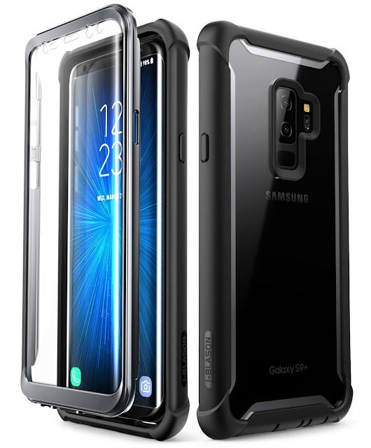 i-Blason Samsung Galaxy S9+ Case with Builtin Screen Protector