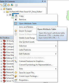 Cara Export Attribute Table SHP Arcgis ke Excel Paling Mudah terbaru