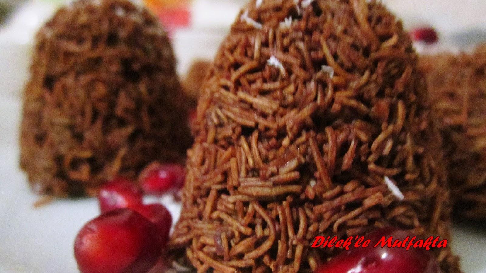 Muhallebili Çikolatalı Çıtır Kadayıf
