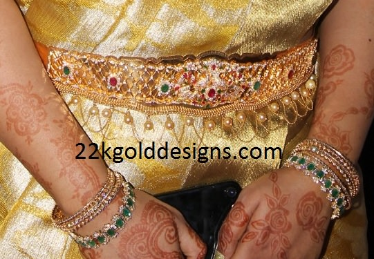 Diamond Bangles and Diamond Vaddanam