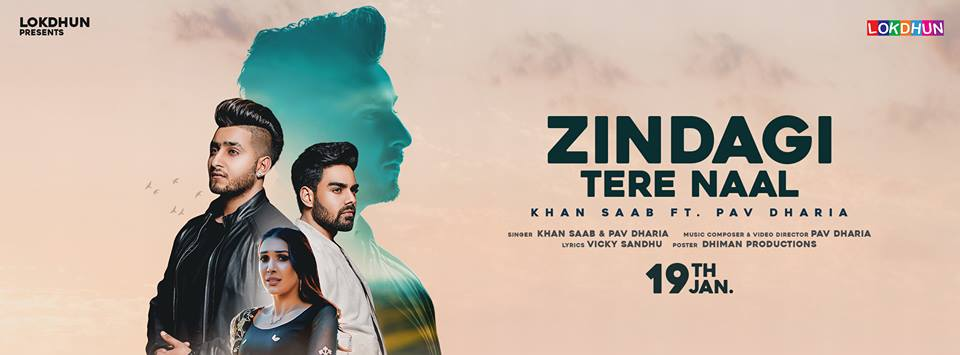 Zindagi Tere Nall     Khan Sabb ft.Pav Dharia new song