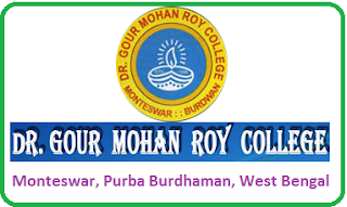 Dr. Gour Mohan Roy College, Monteswar, Purba Burdhaman, West Bengal