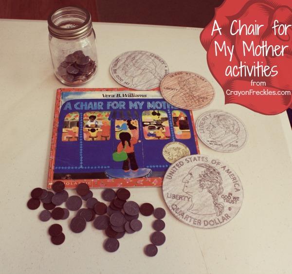 A Chair For My Mother Book Activities Money Math Preschoolers