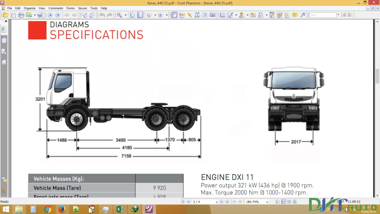Renault Trucks Engine Dxi Kerax Manuals Automotive Library border=