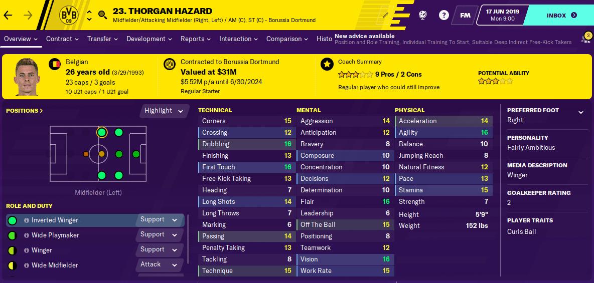FM20  - Hazard