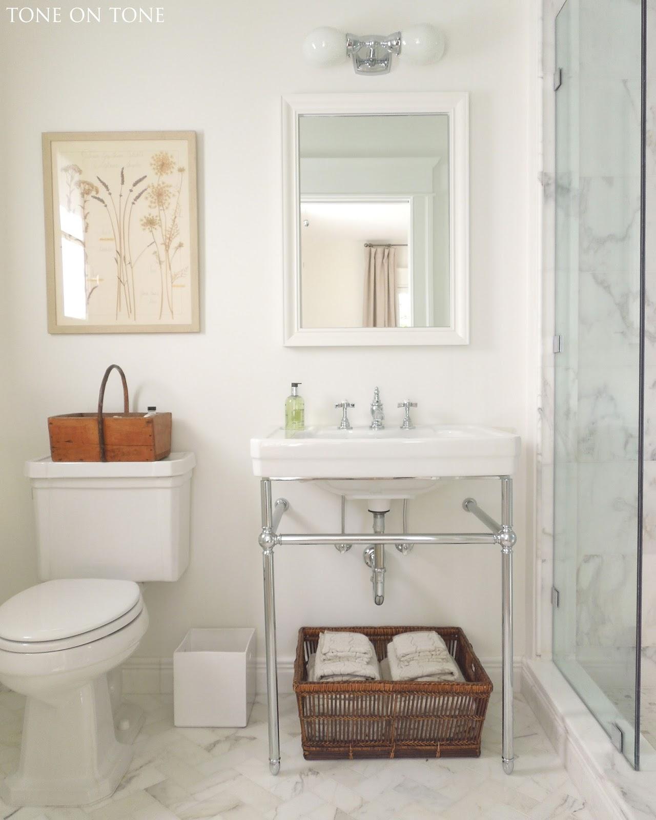 . Tone on Tone   Interior   Garden Design  Small Bathroom Renovation