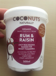 Coconuts Naturally Rum & Raisin Dairy Free Ice Cream