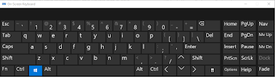 On screen keyboard bahasa Indonesia