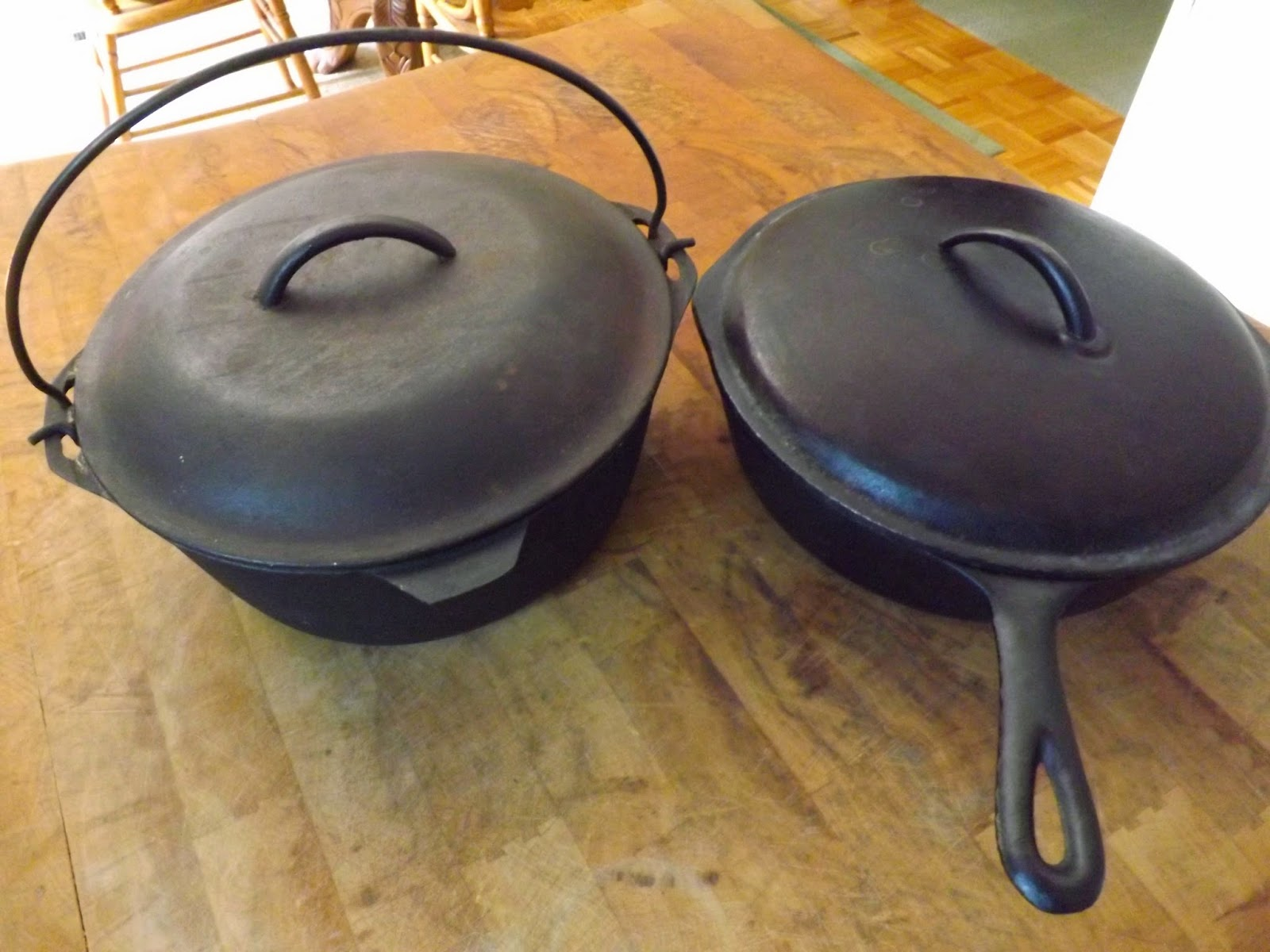 Heirloom Cast Iron Cookware Makes Food Taste Better