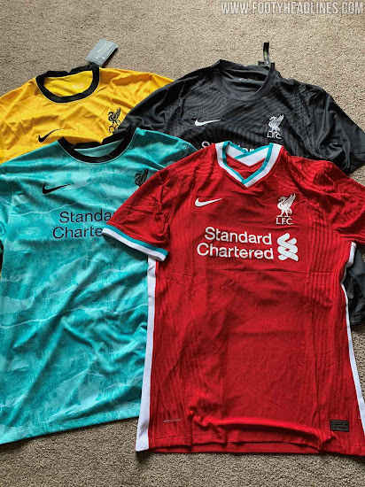 Nike Liverpool 20 21 Home Away Keeper Kits Third Design Leaked Footy Headlines